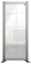 , Bureauscherm Nobo Modulair transparant acryl 400x1000mm