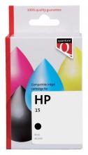 , Inktcartridge Quantore HP C6615D 15 zwart