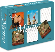 , Smile Art Memo spel 24 sets