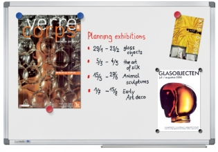 , Whiteboard Legamaster Universal plus 60x90cm emaille