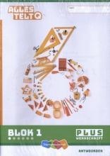 , Alles telt Q Plus blok 1 t/m 6 groep 6 Werkschrift