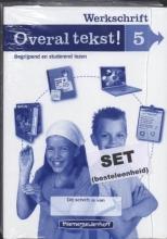 Drie redactie & communicatie Overal tekst! Werkschrift gr 5 (set a 5)
