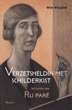 Wim  Willems Verzetsheldin met schilderkist