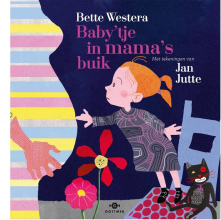 Bette  Westera Baby`tje in mama`s buik