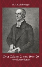 H.F. Kohlbrügge , Over Galaten 2, vers 19 en 20