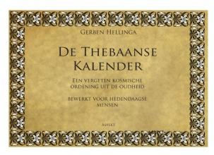 Gerben  Hellinga De Thebaanse Kalender