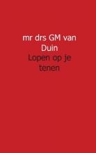 Gerard M. van Duin verslag van een impact Lopen op je tenen
