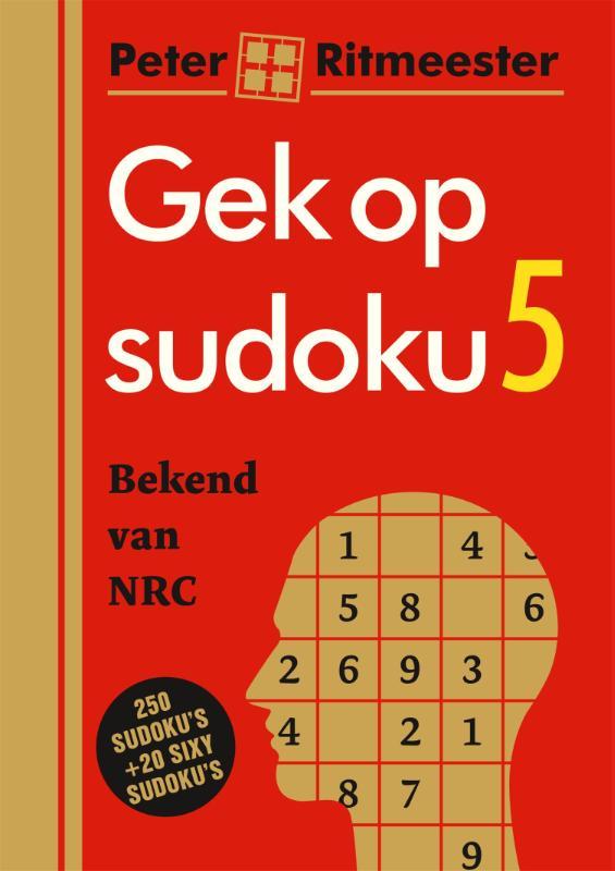 Peter Ritmeester,Gek op sudoku 5