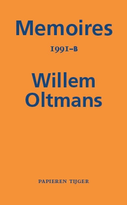 Willem Oltmans,Memoires 1991-B