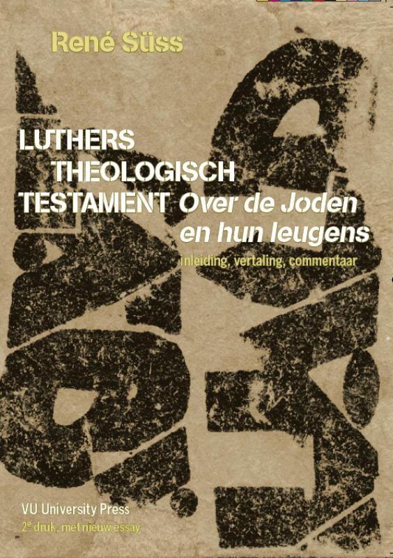 R. Süss,Luthers theologisch testament