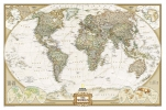 <b>National Geographic Maps - Reference</b>,World Executive [Laminated]