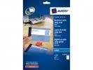 ,<b>visitekaartjes Avery 85x54mm 260gr wit 10 vel 10 kaarten    per vel</b>