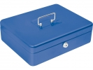 ,geldkistje Alco 310x225x100mm staal blauw
