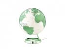 ,globe Bright HOT green 30cm diameter kunststof voet met     verlichting