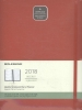 ,Moleskine 12 month - weekly - XL - scarlet red - soft cover