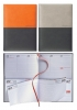,<b>Agenda 2020 Lediberg Twin Timer medium oranje/zwart of zilvergrijs/zwart</b>