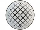 ,Wandklok NeXtime dia. 43 cm, glas/spiegel, zilver