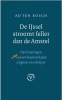 <b>Ad ten Bosch</b>,De IJssel stroomt feller dan de Amstel