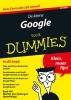 <b>Brad  Hill</b>,De kleine Google voor Dummies, 2e editie