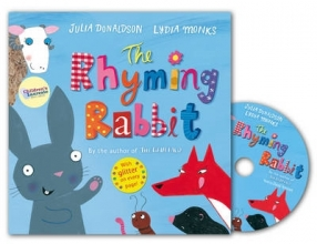 Donaldson, Julia Rhyming Rabbit Book and CD Pack