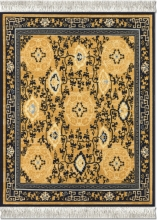 , Muismat tapijt the five medallions