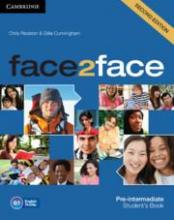Gillie Cunningham Chris Redston, face2face Pre-intermediate Student`s Book