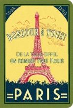 Paris Stitch Lined Pocket Notebook