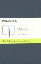 Moleskine Classic Notebook, Pocket, Plain, Sapphire Blue