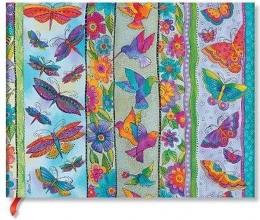 Pb 7245-4 , Paperblanks gastenboek blanco playful creations hummingbirds & flutterbyes