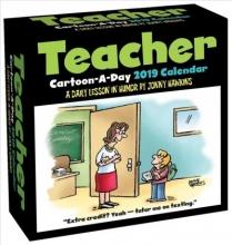 Hawkins, Jonny Teacher Cartoon-a-Day 2019 Calendar