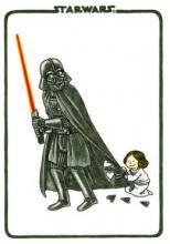 Jeffrey,Brown Vader`s Little Princess Flexi Journal