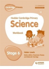 Riley, Peter Hodder Cambridge Primary Science Workbook 6