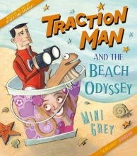 Grey, Mini Traction Man and the Beach Odyssey