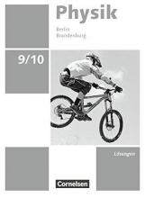 Greiner-Well, Ralf,   Göbel, Elke,   Höpfner, Tom,   Roßner, Matthias Physik - Neue Ausgabe 9./10. BN BB Lös. z. SB