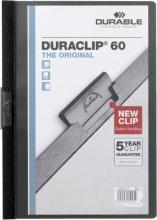 , Klemmap Durable 2209 A4 6mm zwart