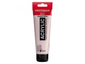 , Talens amsterdam acrylverf tube 120 ml lichtrose 361
