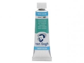 , Talens van gogh aquarelverf tube 10 ml turkooisgroen 661