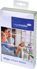 , Magic-chart notes Legamaster 10x20cm assorti