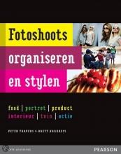 Brett Harkness Peter Travers, Fotoshoots organiseren en stylen
