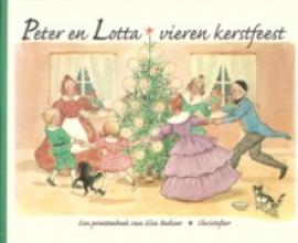 E.  Beskow Peter en Lotta vieren kerstfeest