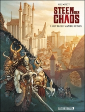 Katz , Steen der chaos 01 Het bloed van de ruïnes