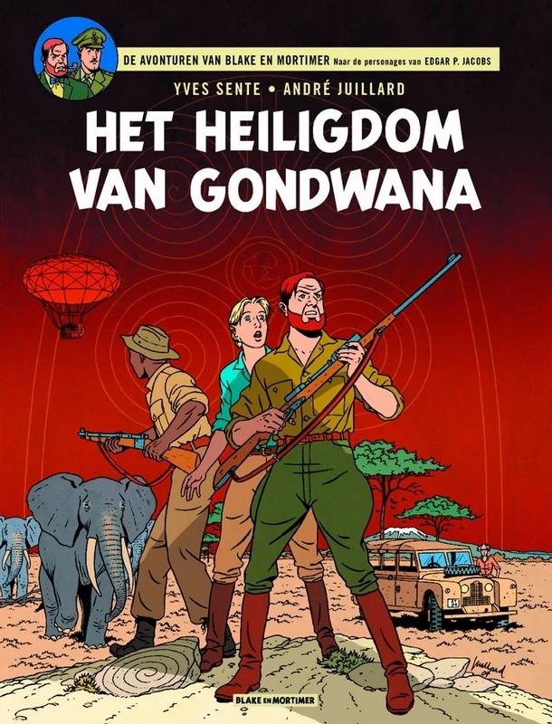 André Juillard, Yves Sente,Het heiligdom van gondwana