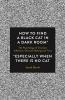 Jacob Burak, How to Find a Black Cat in a Dark Room