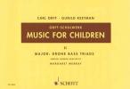 GUNILD OR KEETMAN, MUSIC FOR CHILDREN VOL 2