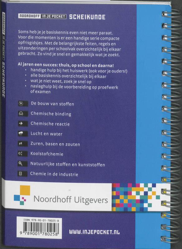 T. Pieters,Noordhoff Scheikunde in je pocket