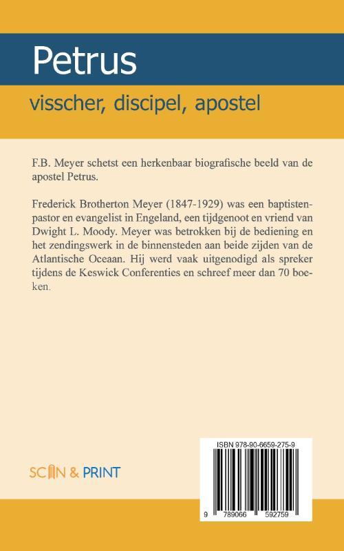 F.B. Meyer,Petrus