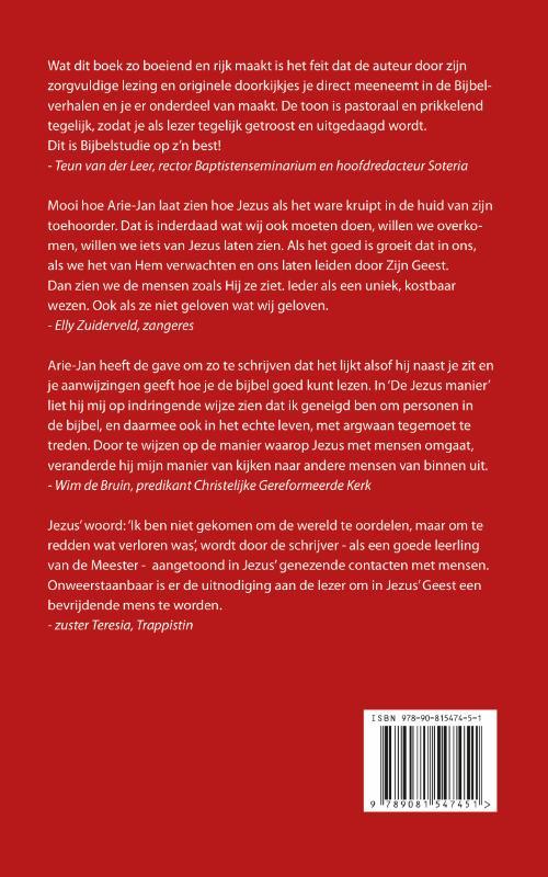 Arie-Jan Mulder,De Jezus manier
