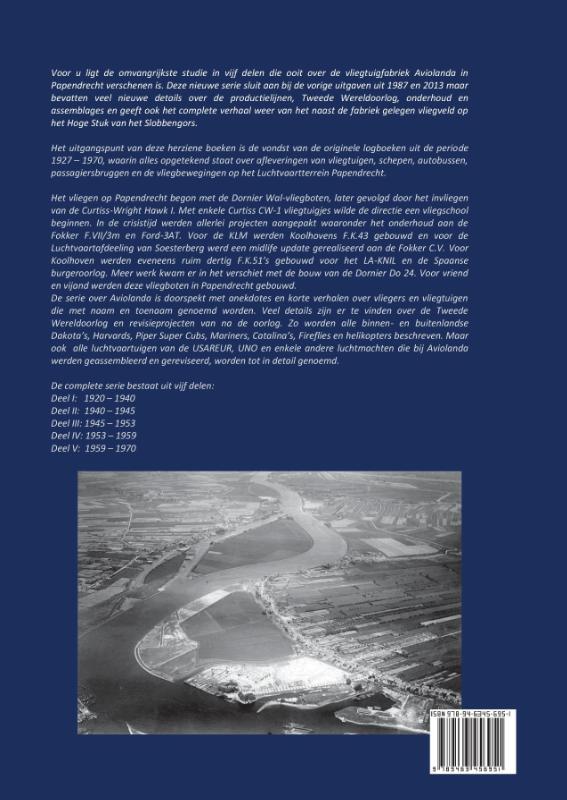 Pieter van Wijngaarden,Logboek Aviolanda en het verdwenen vliegveld Papendrecht Deel IV