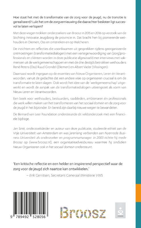 Jan Smit,Bezielde professionals & pionierende wethouders