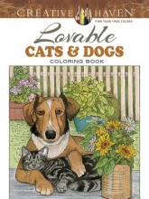 Soffer, Ruth Creative Haven Lovable Cats and Dogs Coloring Book